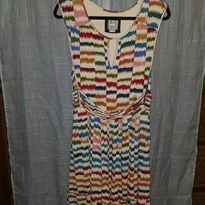 Anthropologie meave dress size large in EUC